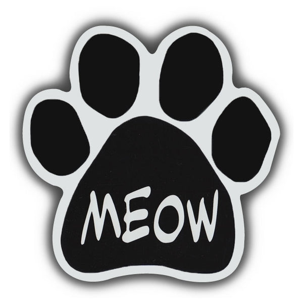 Cat Paw Magnet - Meow