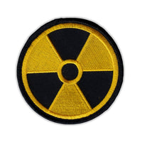 Patch - Radioactive Nuclear Symbol (Yellow, Black)