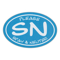 Oval Magnet - Please Spay & Neuter