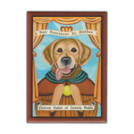 Refrigerator Magnet - Patron Saint Dog Series, Golden Retriever