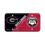 Embossed Aluminum License Plate Cover - University of Georgia
