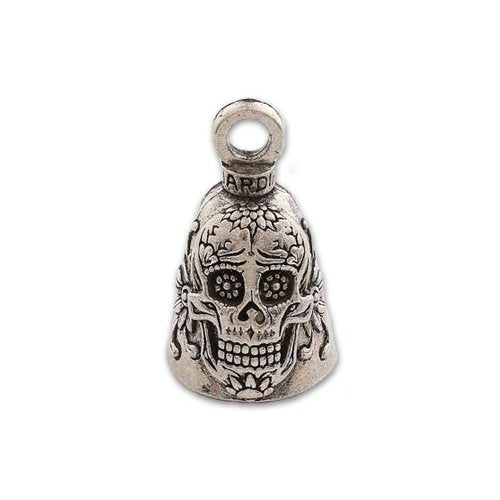 "Guardian Bell - Day of the Dead Sugar Skull (.75"" x 1"")"