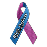 Ribbon Magnet - Birth Defects Awareness