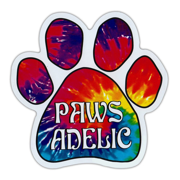"Paw Magnet - Paws-Adelic (5.5"" x 5.5"")"