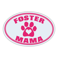 Oval Magnet - Foster Mama