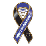Ribbon Magnet - Law Enforcement Support
