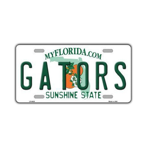 Aluminum License Plate Cover - (Gators) University of Florida