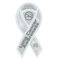 Ribbon Magnet - Lung Cancer Support