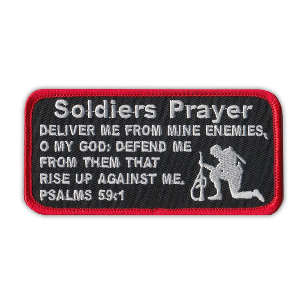 Patch - Soldier's Prayer Psalms 59:1