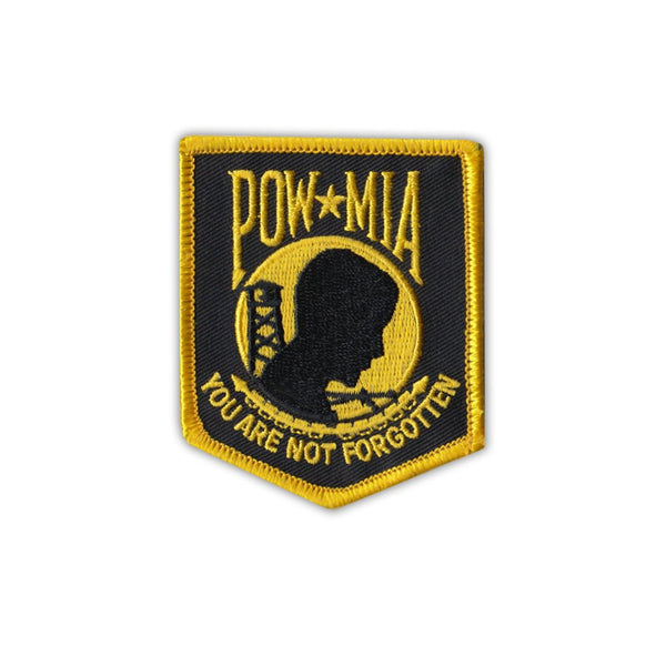 Patch - POW MIA You Are Not Forgotten (Yellow)