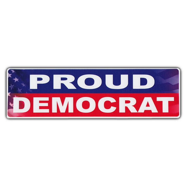 Bumper Sticker - Proud Democrat