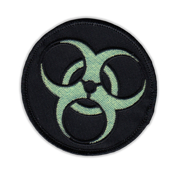 Patch - Zombie Symbol (Black and Green)
