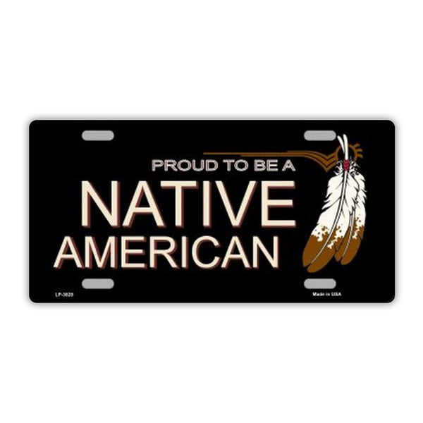 Proud To Be A Native American Plate
