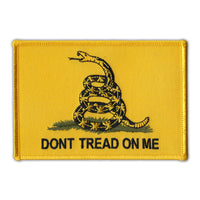 Patch - Don't Tread On Me, Gadsden Flag Coiled Snake
