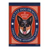 Refrigerator Magnet - Cattle Dog Draught