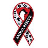 Ribbon Magnet - Animal Rescue Support