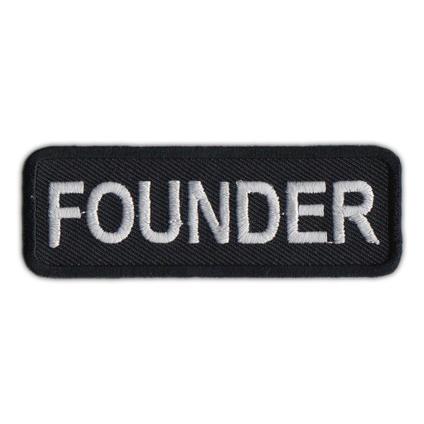 Embroidered Patch - Founder