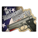 "Magnet - My Homeland Security (7"" x 5"")"