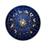 "Aluminum Metal Sign - Zodiac Signs (12"" Round)"