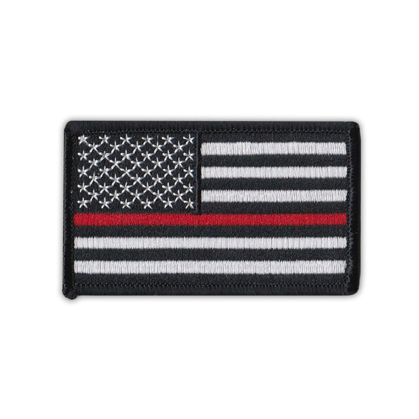 Patch - United States Flag Thin Red Line, Firefighter