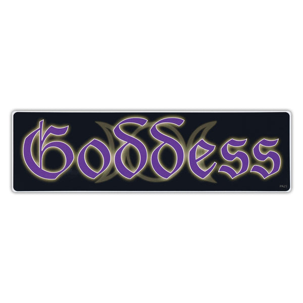 Bumper Sticker - Goddess