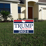 Donald Trump 2024 Yard Sign