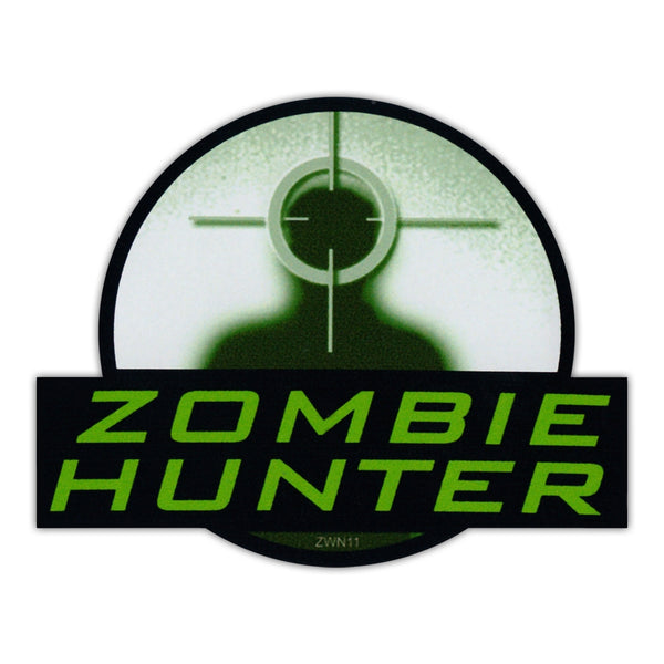 Bumper Sticker - Zombie Hunter