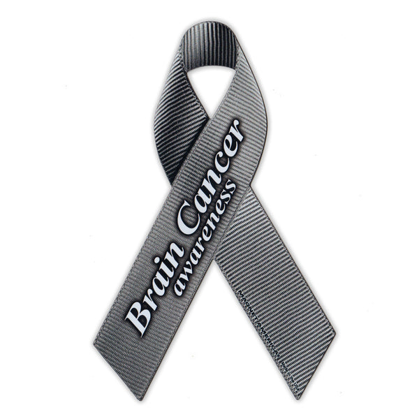Ribbon Magnet - Brain Cancer Awareness