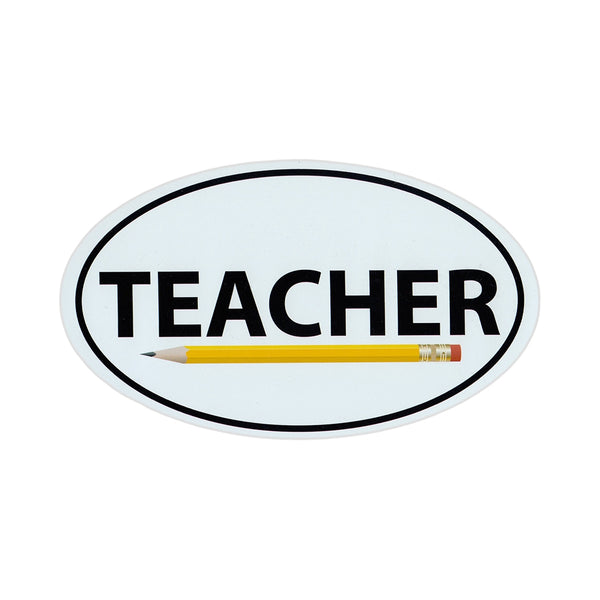"Magnet - Teacher (6"" x 3.5"")"