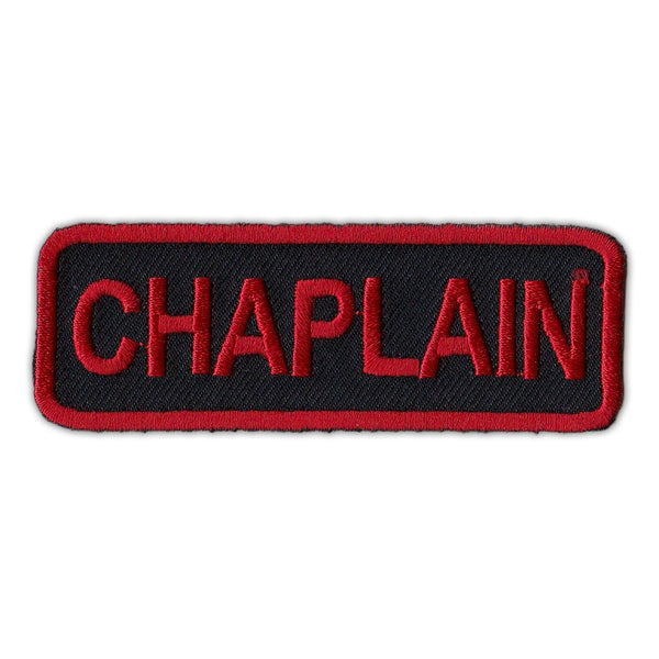 Patch - Chaplain (Red/Black)