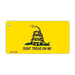 Aluminum Keychain - Gadsden Flag Coiled Snake, Don't Tread On Me