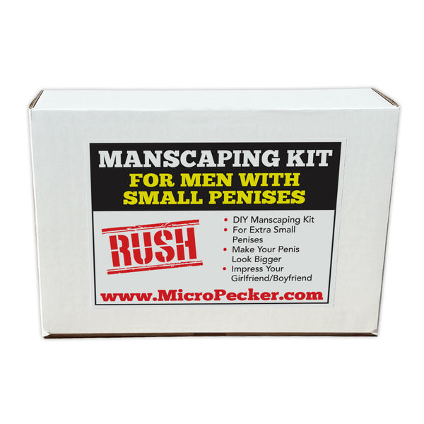 Prank Product Box - Manscaping Kit