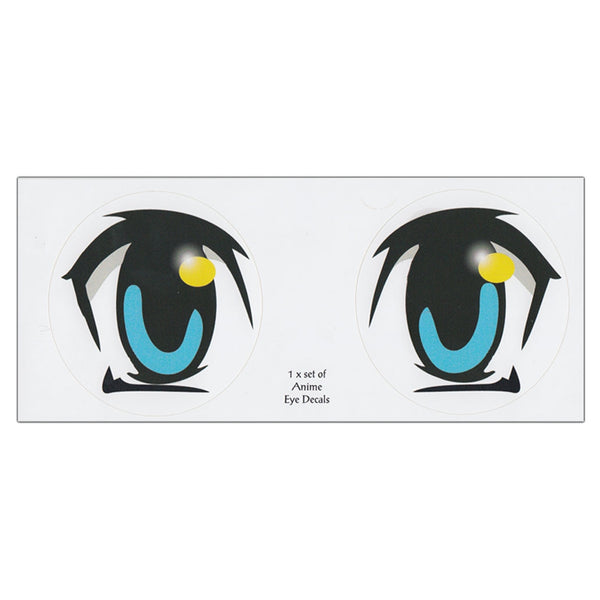 Bumper Sticker - Anime Eyes