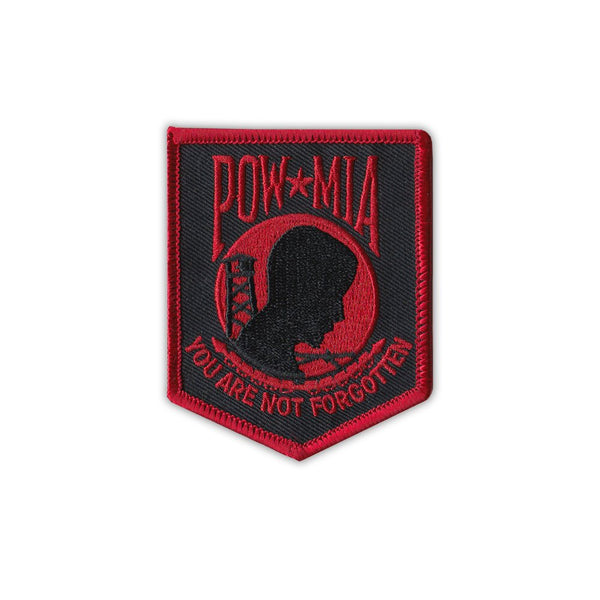 Patch - POW MIA You Are Not Forgotten (Red)