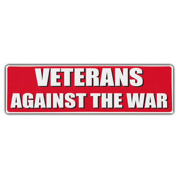 Bumper Sticker - Veterans Against The War
