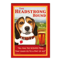 The Headstrong Hound Beer & Biscuit