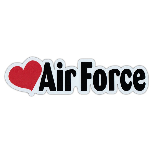 "Word Magnet - Love Air Force (2"" x 7"")"