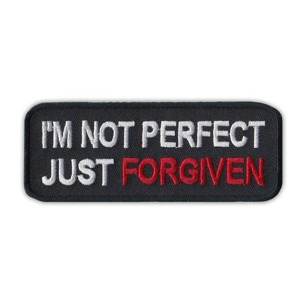 Patch - I'm Not Perfect Just Forgiven