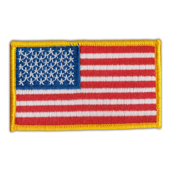 Patch - United States Flag USA - Red, White, Blue