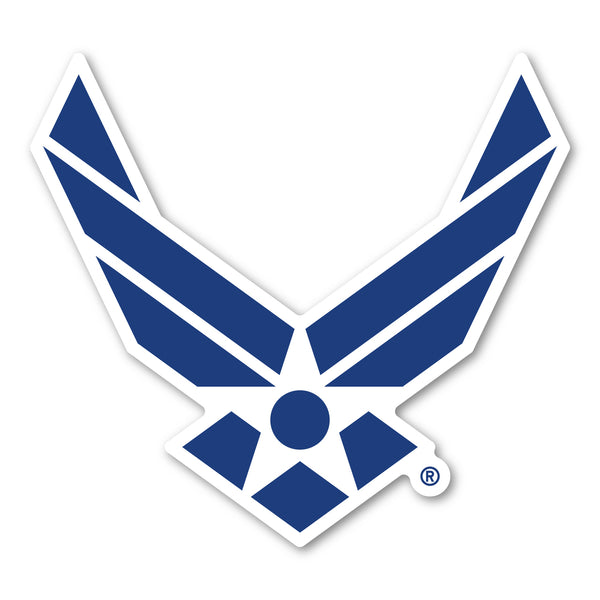 "Magnet - United States Air Force Logo Magnet (5"" x 4.5"")"