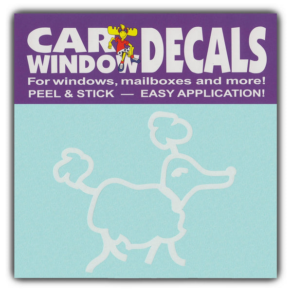 "Window Decal - Small Size Dog Breed (3"" Wide)"