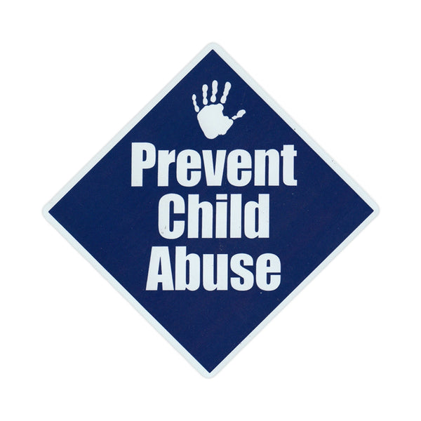 "Magnet - Prevent Child Abuse (5"" x 5"")"