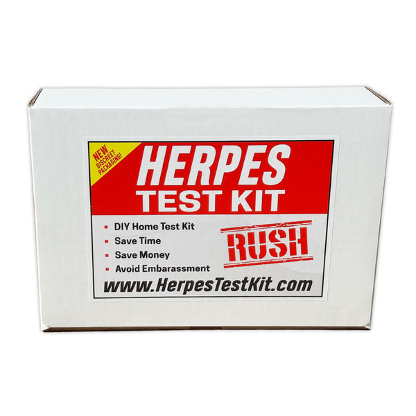 Fake Product Box For Pranks, Herpes Test Kit, Send Directly To The Person You Want To Embarrass (100% Anonymous)