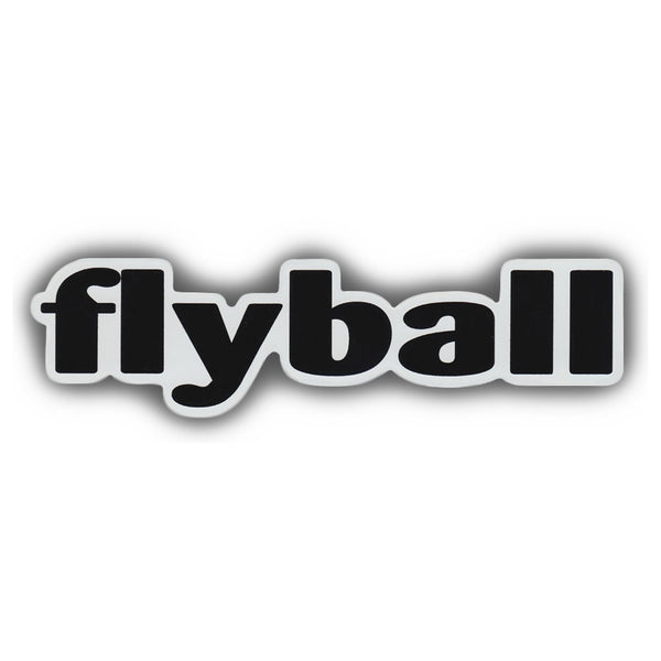 "Word Magnet - Flyball (2"" x 7"")"