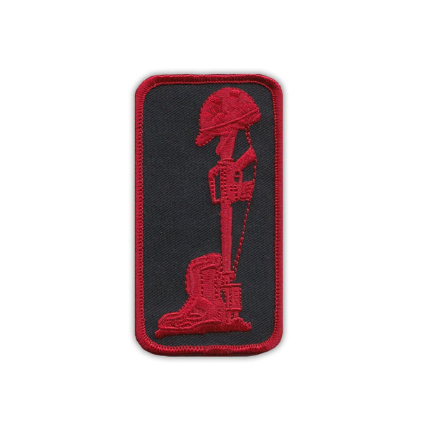 Patch - Military Field Cross (Red)