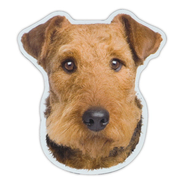 "Magnet - Airedale Terrier Dog Breed (4.5"" x 5"")"