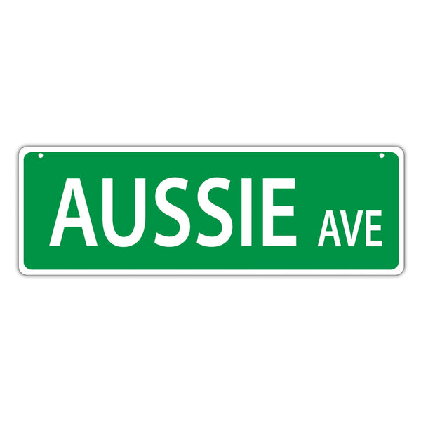 Street Sign - Aussie Avenue