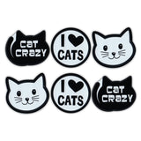 "Magnet Variety Pack - Cat Crazy, 1.75"" x 1.5"" Each"