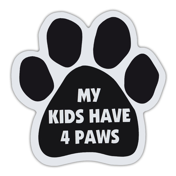 Paw Magnet - My Kids Have 4 Paws
