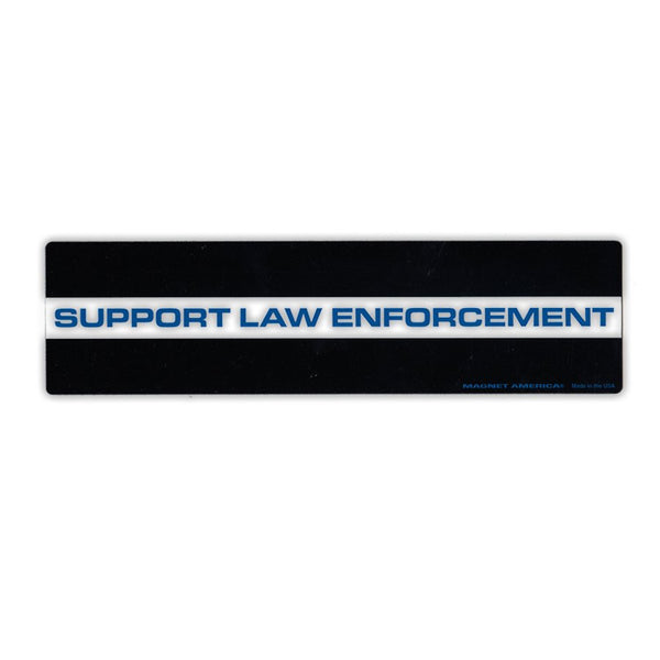 "Magnet - Support Law Enforcement (10.75"" x 2.75"")"
